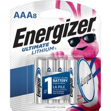 EVE L92SBP8 Energizer Ultimate Lithium AAA Batteries EVEL92SBP8