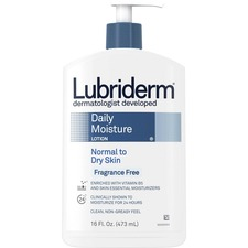 Lubriderm Fragrance Free Daily Moisture Lotion