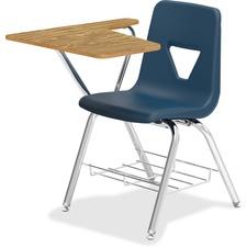 LLR99915 - Lorell Tablet Arm Study Top Student Combo Desks - 2/CT