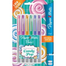 PAP 1982366 Paper Mate Flair Candy Pop Limited Ed Felt Tip Pen PAP1982366