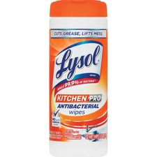 RAC 96268 Reckitt Benckiser Lysol KitchenPro Antibctrl Wipes RAC96268