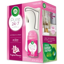 RAC 97290 Reckitt Benckiser Tropical Flowers Pure Spray Kit RAC97290