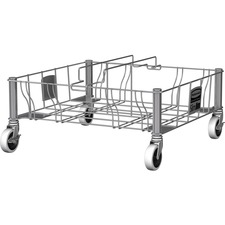 RCP 1956191 Rubbermaid Comm. Stainless Steel Double Dolly RCP1956191