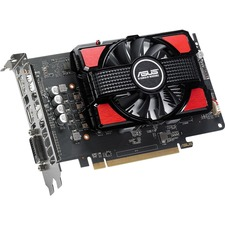 Asus RX550-2G Radeon RX 550 Graphic Card - 1.18 GHz Core - 2 GB GDDR5 - PCI Express 3.0 - Dual Slot Space Required