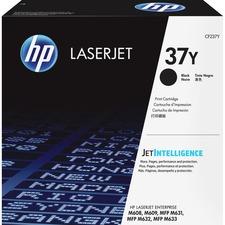 HP 37Y Original Toner Cartridge - Black - Laser - Extra High Yield - 41000 Pages - 1 / Pack