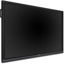 "Viewsonic ViewBoard IFP7550 Collaboration Display - 75"" LCD - ARM Cortex A53 1.20 GHz - 2 GB - Infrared (IrDA) - Touchscreen - 16:9 Aspect Ratio - 3840 x 2160 - LED - 350 cd/m² - 1,200:1 Contrast Ratio - 2160p - USB - HDMI - VGA - Android 5.1 Lollipo"