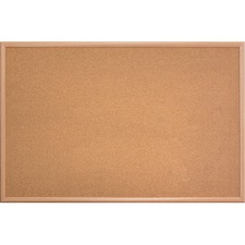 Mega Brands The Board Dudes 23'' x 35'' Wood Style Frame Cork Board