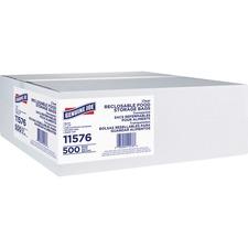 Genuine Joe Food Storage Bags - 1.75 mil (44 Micron) Thickness - Clear - Food, Beef, Poultry, Vegetables, Seafood