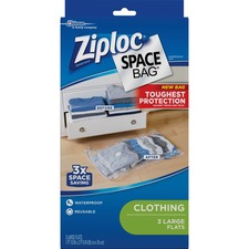 SJN 690898 SC Johnson Ziploc Clothing Space Bag SJN690898