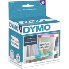 DYM 30334 Dymo Multipurpose White Medium Labels DYM30334