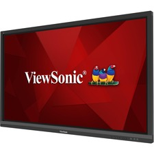 "Viewsonic IFP6550 65"" 2160p 4K Interactive Display, 20-Point Touch, VGA, HDMI - 65"" LCD - ARM Cortex A53 1.50 GHz - 2 GB - Infrared (IrDA) - Touchscreen - 16:9 Aspect Ratio - 3840 x 2160 - LED - 350 cd/m² - 1,200:1 Contrast Ratio - 2160p - USB - HDMI"