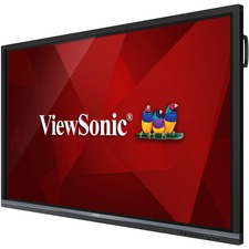 "Viewsonic ViewBoard IFP8650 Collaboration Display - 86"" LCD - ARM Cortex A53 1.20 GHz - 2 GB - Infrared (IrDA) - Touchscreen - 16:9 Aspect Ratio - 3840 x 2160 - LED - 350 cd/m² - 1,200:1 Contrast Ratio - 2160p - USB - HDMI - VGA - Android 5.1 Lollipo"