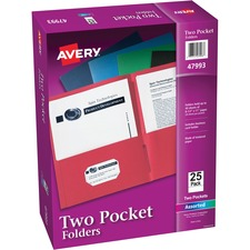 AVE47993CT - Avery® Two-Pocket Folders