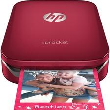 HP Sprocket Zero Ink Printer - Color - Photo Print - Portable - Color - Color313 x 400 dpi - Android, iOS
