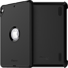 OtterBox iPad Pro 10.5-inch Defender Series Case - For Apple iPad Pro Tablet - Black - Drop Resistant, Wear Resistant, Tear Resistant, Dirt Resistant, Dust Resistant, Shock Resistant, Scrape Resistant, Scratch Resistant, Scuff Resistant, Bump Resistant - Polycarbonate, Synthetic Rubber, Polyester - 1