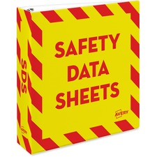 AVE18951 - Avery® Safety Data Sheets Binder