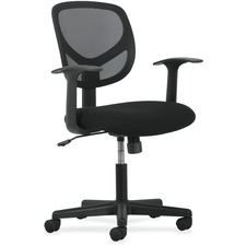BSX VST102 Basyx VST102 Fixed Arms Mid-back Task Chair BSXVST102