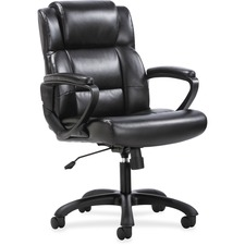 BSX VST305 Basyx VST305 Executive Mid-back Chair BSXVST305