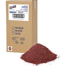 Genuine Joe Wax Based Sweeping Compound - Wax - 1 / Box - Red