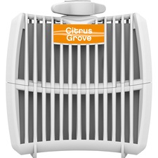 Genuine Joe Air Refreshener Refill Cartridge - Citrus Grove - Long Lasting, Odor Neutralizer