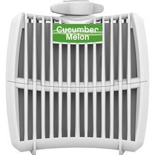 Genuine Joe Air Refreshener Refill Cartridge - Cucumber Melon - Long Lasting, Odor Neutralizer