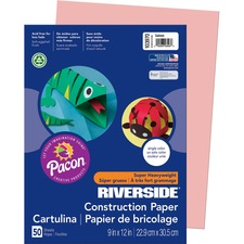 PAC 103970 Pacon Riverside Super Heavywt Construction Paper PAC103970