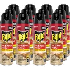 SJN 669798CT SC Johnson Raid Ant/Roach Killer Spray SJN669798CT