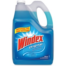 Windex® Glass & Multi-Surface Cleaner - Liquid - 169.1 fl oz (5.3 quart) - Bottle - 1 Each