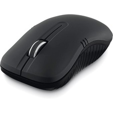 Verbatim Wireless Notebook Optical Mouse, Commuter Series - Matte Black - Optical - Wireless - Radio Frequency - Matte Black - 1 Pack - USB Type A - 1200 dpi - Scroll Wheel - Symmetrical
