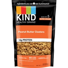 KND17282 - KIND Peanut Butter Whole Grain Clusters