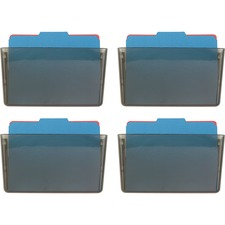 OIC 21431CT Officemate Plastic Wall File OIC21431CT