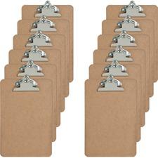 SPR 00893BX Sparco Hardboard Clipboard SPR00893BX