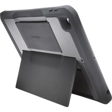 """Kensington Carrying Case for 9.7"""" iPad - Scratch Resistant, Anti-slip, Damage Resistant, Impact Resistant, Drop Resistant, Strain Resistant - Silicone Strap, Polycarbonate - Textured - Hand Strap - 0.70"""" (17.78 mm) Height x 10.20"""" (259.08 mm) Width x 7.50"""