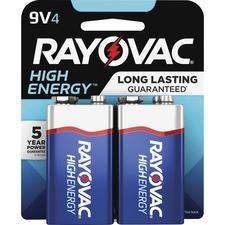 RAY A16044TK Rayovac Alkaline 9 Volt Battery RAYA16044TK