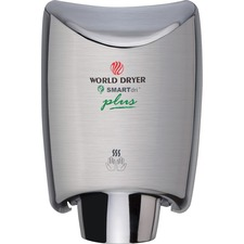 WRL K973P2 World Dryer SMARTdri Plus Intelligent Hand Dryer WRLK973P2