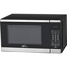 Royal Sovereign Countertop Microwave RMW900-25W - 19.82 L Capacity - Microwave - 10 Power Levels - 700 W Microwave Power - 120 V AC - Countertop - Stainless Steel, Black