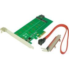 VisionTek PCIe -M.2 SATA Adapter Card