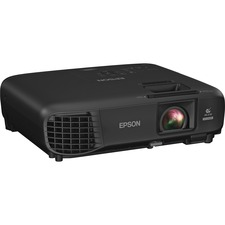 Epson PowerLite 1286 LCD Projector - 1080p - HDTV - 16:10 - Rear, Ceiling, Front - UHE - 210 W - 6000 Hour Normal Mode - 10000 Hour Economy Mode - 1920 x 1200 - WUXGA - 15,000:1 - 3600 lm - HDMI - USB - Wireless LAN - 315 W - 2 Year Warranty