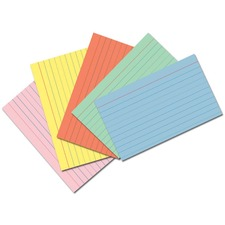 PAC 5174 Pacon Assorted Colors Index Cards PAC5174