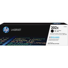 HP 202X (CF500X) Toner Cartridge - Black - Laser - High Yield - 3200 Pages