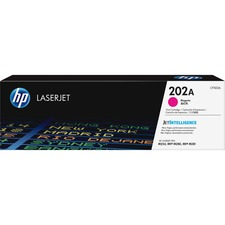 HP 202A (CF503A) Toner Cartridge - Magenta - Laser - Standard Yield - 1300 Pages