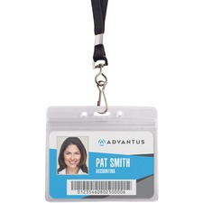 AVT 91132 Advantus ID Holder/Lanyard Combo Pack AVT91132