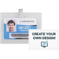 AVT97027 - Advantus DIY Clip-style Name Badge Kit