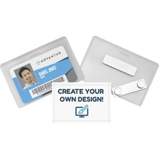 AVT 97033 Advantus DIY Magnetic Name Badge Kit AVT97033