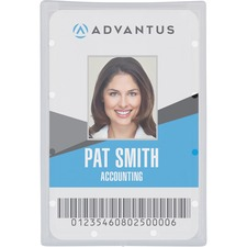 Advantus 97100 Badge Holder