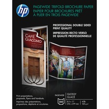 HEW Z7S65A HP PageWide Glossy Brochure Paper HEWZ7S65A