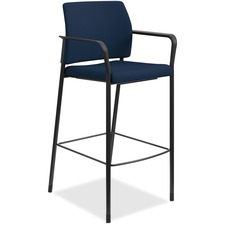 HON SCS2FECU98B HON Accommodate Fixed Arms Cafe Height Stool HONSCS2FECU98B