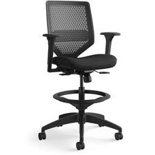 HON SVSR1ACLC10T HON Solve Seating ReActiv Back Task Stool HONSVSR1ACLC10T