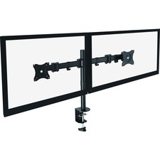 LLR 99987 Lorell Desk Riser Double Monitor Arm LLR99987
