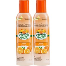 BMT 612172147 Beaumont Citrus Magic Fresh Orange Scent Air Spray BMT612172147